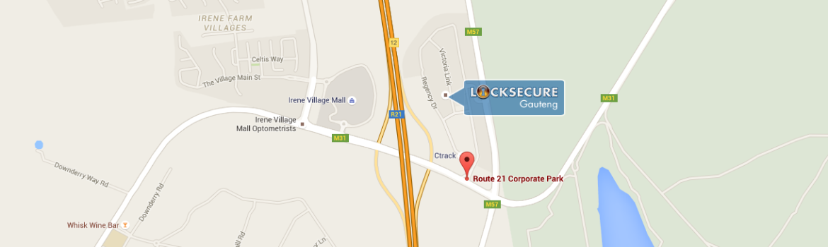 Where to find Locksecure Gauteng